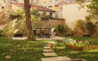 Création de jardins de rue.