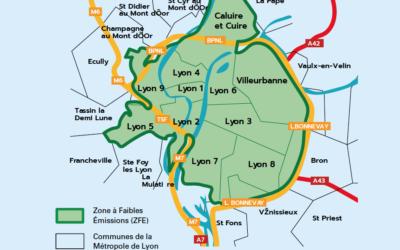 ZFE de la Métropole lyonnaise : fin du diesel d'ici 2026, lancement de 5 mois de concertation